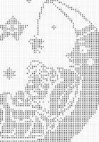 Copertina Per Neonato Con Luna E Bimbo
